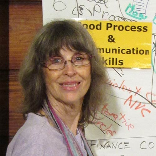 Photo of intentional communities expert Diana Leafe Christian