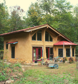 Small charming home at Earthaven Ecovillage