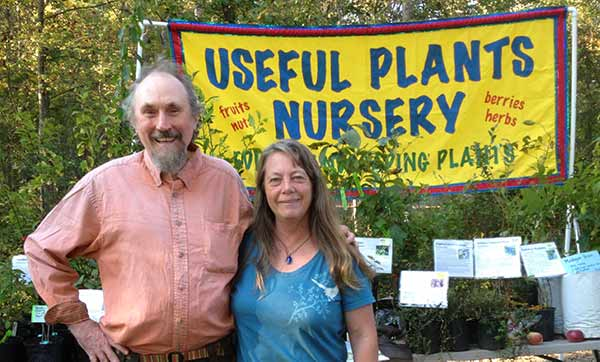 Useful Plants Nursery with permaculture plants at Earthaven Ecovillage