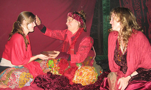 Red Tent Blessing