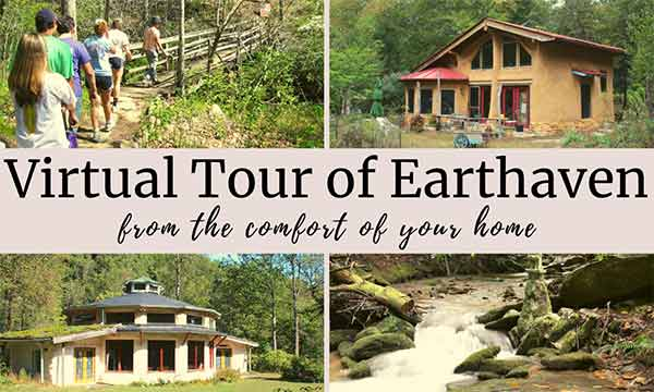 Slide from virtual tour of Earthaven Ecovillage